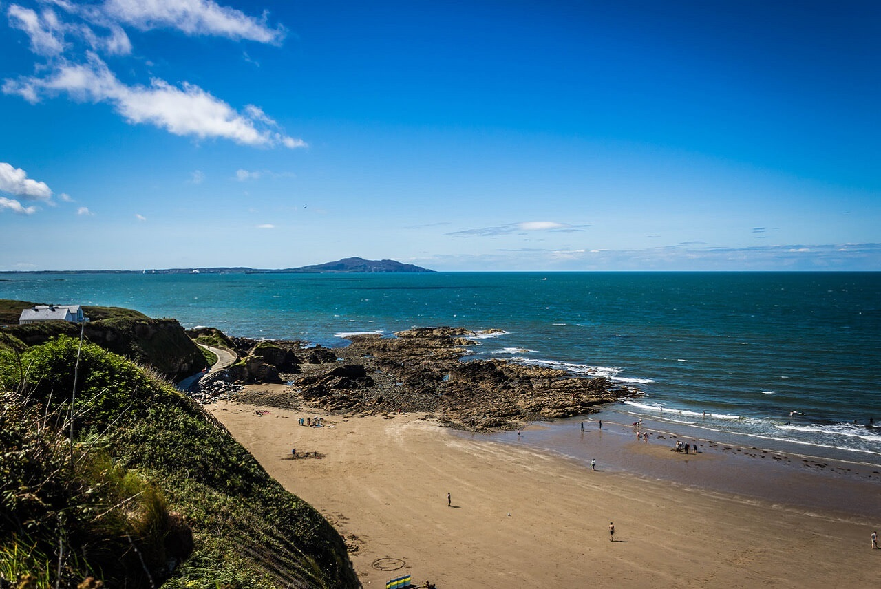 Cottages close to sandy beach Anglesey