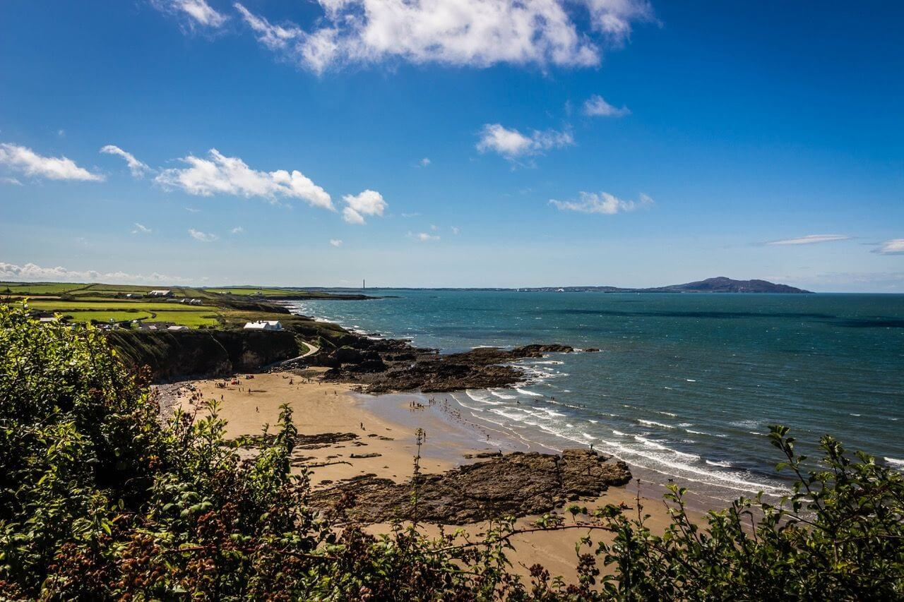 Stunning Church Bay in Anglesey