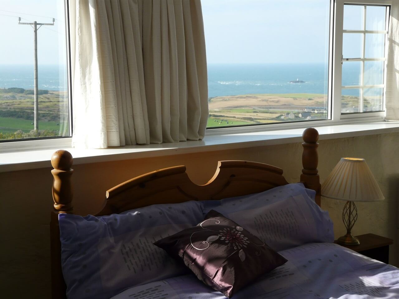 Double room with sea views first floor